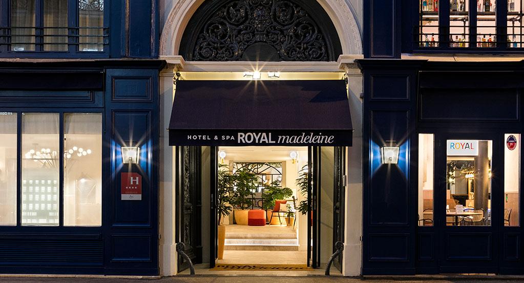 Hôtel Royal Madeleine - Façade
