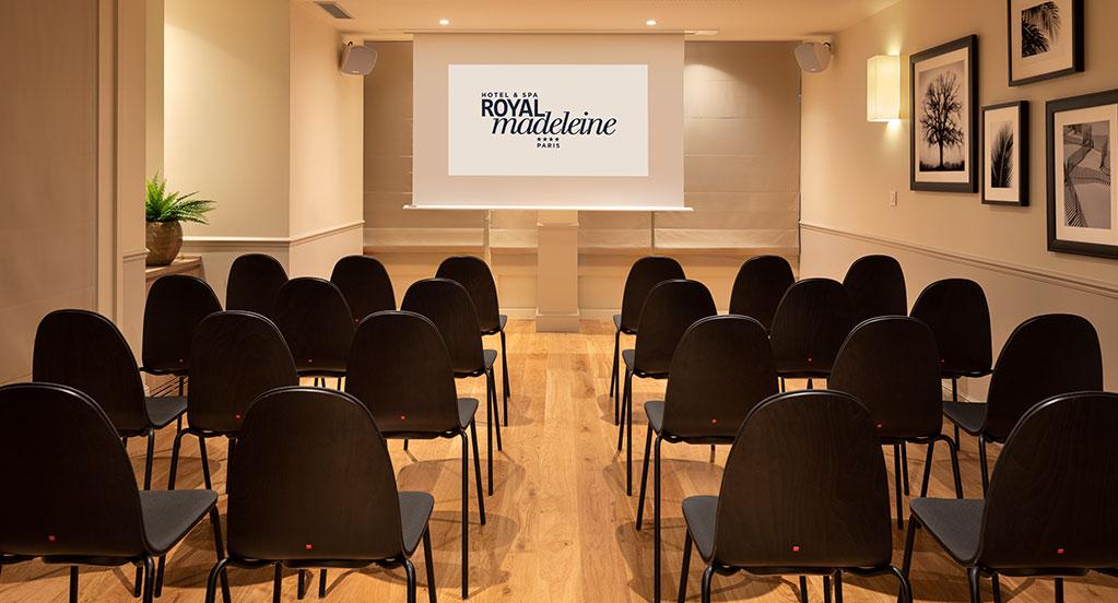 Hôtel Royal Madeleine - Séminaire - Format théâtre