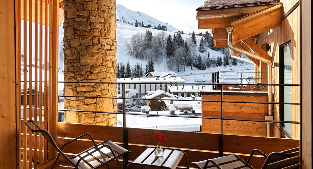 St-Alban Hotel & Spa - Balcon