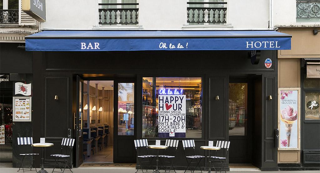 OH LA LA ! Hotel Bar - Exterieur